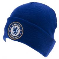 Chelsea F.C. atlenkta žieminė kepurė (Mėlyna) Sirgalių atributika