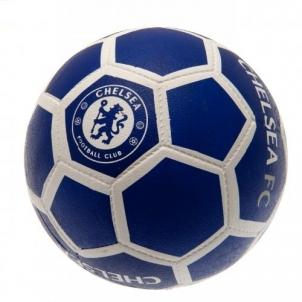Chelsea F.C. futbolo kamuolys (Mėlynas su baltais lankais)