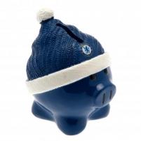 Chelsea F.C. kiaulė taupyklė (su kepure)