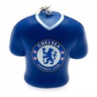 Chelsea F.C. minkštas marškinėlių formos raktų pakabukas Sirgalių atributika