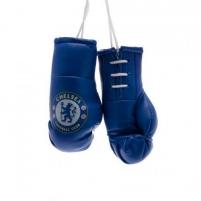 Chelsea F.C. pakabinamos mini bokso pirštinės Sirgalių atributika