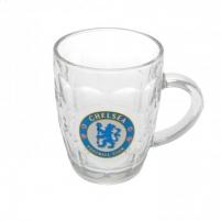 Chelsea F.C. stiklinis alaus bokalas