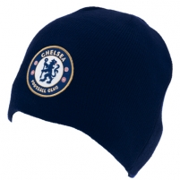 Chelsea F.C. žieminė kepurė (Tamsiai mėlyna) Sirgalių atributika