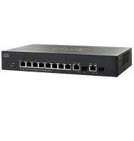Cisco SG300-10PP 10-port Gigabit PoE+ Managed Switch