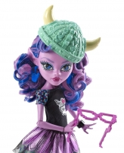 CJC62 / DJR52 Kjersti Trollson Monster High Brand-Boo Students lėlė MATTEL
