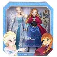 CKL63 Lėlės Ana ir Elsa. Mattel FROZEN Žaislai mergaitėms