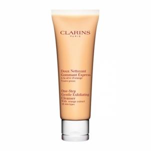 Clarins One Step Gentle Exfoliating Cleanser Cosmetic 125ml Veido valymo priemonės