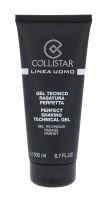 Collistar MEN Perfect Shaving Cream Cosmetic 200ml Losjonai balzamai