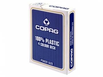 Copag 4 Colour pokerio kortos (Mėlynos) Žaidimai, kortos