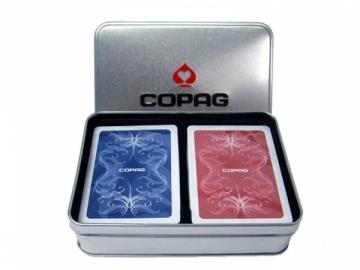 Copag Centennial dvi kortų kaladės specialioje dėžutėje Žaidimai, kortos