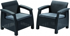 Chairs set Corfu duo  Outdoor chairs
