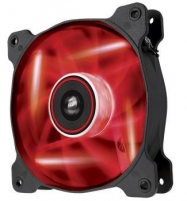 Corsair PC case fan AF120 Quiet Edition LED Red,120mm, 3pin, 1500 RPM Coolers