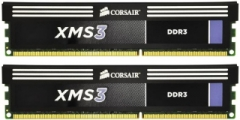 Corsair XMS3 2x4GB 1600MHz DDR3 CL9 DIMM 1.65V Heat Spreader