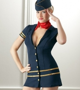 Cottelli Collection stiuardesės kostiumėlis Kostiumai