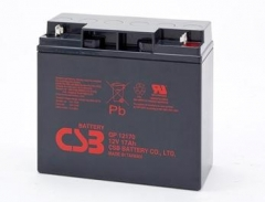 CSB 2 baterijų rinkinys GP12170 12V/17Ah UPS priedai