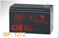 CSB 4 baterijų rinkinys GP1272 F2 12V/7.2Ah