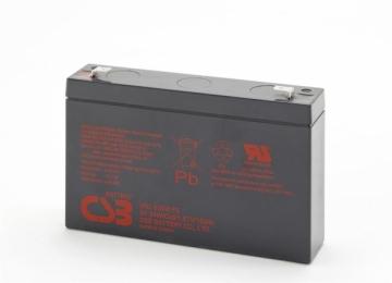 CSB 6 baterijų rinkinys HRL634W 6V/9Ah 34W