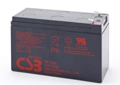 CSB 8 baterijų rinkinys GP1272 F2 12V/7.2Ah UPS priedai