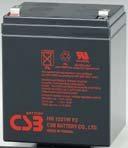 CSB baterija HR 1221W F2 12V/5.1Ah