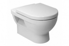 CUBITO Hanging toilet with right runoff