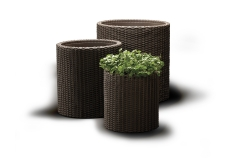 Cylinder vazonų rinkinys Miscellaneous outdoor furniture