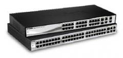 D-Link 24-port Fast Ethernet PoE/PoE+ Smart Switch