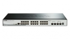 D-Link 28-Port Gigabit Stackable SmartPro Switch 2x SFP and 2x 10G SFP+ ports
