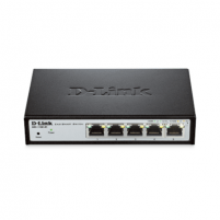 D-LINK DGS-1100-05, 5 10/100/1000BASE-T ports compact EasySmart switch