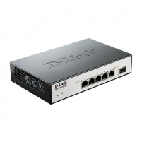 D-LINK DGS-1100-06/ME, 5 10/100/1000Base-T ports and 1 SFP port Metro CPE