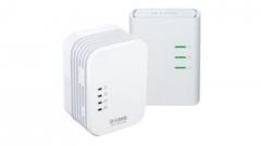 D-Link PowerLine AV 500 Wireless N Mini Extender, QoS, Common Connect Button,WPS