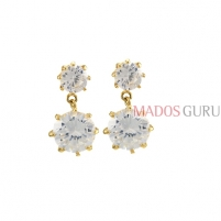Elegant earrings A1052