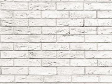 Dailylentė plastikinė MOTIVO Mattone bianco 2,7M*25CM VOX