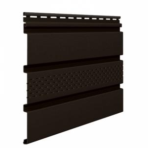Dailylentė SOFITAS SV07-2,70M SU VENT VOX brown-rudas s07 Siding (vinyl, fiberboard, wood)