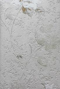 Tapetai DANDELION 6618-10, 10,00x0,53cm pilki gėlėmis  Viniliniai tapetai
