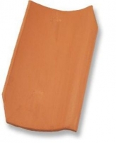 Dantegl, clay roof tiles, brick red Ceramic tiles