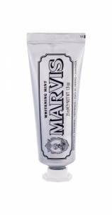 Dantų pasta Marvis Toothpaste Whitening Mint Cosmetic 25ml Dantų pasta, skalavimo skysčiai