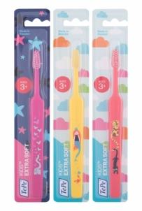 Dantų šepetėlis TePe Kids Extra Soft 1vnt Dantų šepetėliai