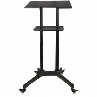 Darbastalis kompiuteriui ART Trolley on wheels/work station for notebook/projector S-10B Interaktyvus pristatymas