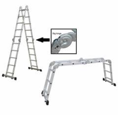 Daugiafunkcinės aliuminės kopėčios HERVIN TOOLS 4x5 Ladder