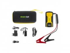 Daugiafunkcinis galios šaltinis - automobilio užvedėjas (paleidėjas) GREEN CELL KICKSTART, 11 AH, LI-POLYMER Battery chargers