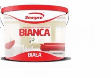 Dažai Bianca akriliniai 10 L balti vidaus Akriliniai dažai