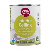 Dažai luboms VIVACOLOR Interior Ceiling 0.9l Emulsiniai dažai