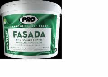 Dažai PRO FASADA 4,5 L bazė B,C mineraliniams fasadams Emulsiniai dažai