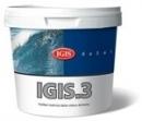 Paint visiškai matt IGIS 3 A bazė 3 ltr.