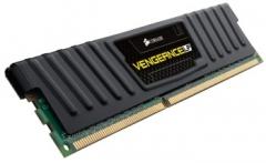 DDR3 Corsair Vengeance Low Profile Black 4GB 1600MHz CL9