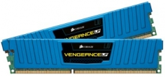 DDR3 Corsair Vengeance Low Profile Blue 16GB (2x8GB) 1600MHz CL10 1.5V