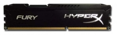 DDR3 Kingston HyperX Fury Black 4GB 1333MHz CL9