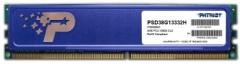 DDR3 Patriot 8GB 1333MHz CL9 1.5V, Radiatorius