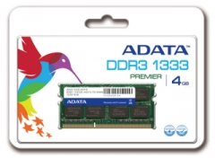 DDR3 SODIMM Adata 4GB 1333MHz CL9 1.5V - Retail
