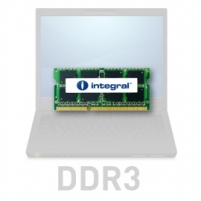 DDR3 SODIMM Integral 2GB 1066MHz CL7 1.5V, Single rank